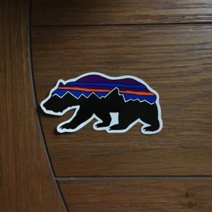 Patagonia Bear Logo Sticker